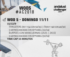 andalusí challenger 2018